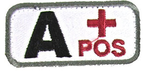 A POSITIVE Blood Type Patch - MEDICAL