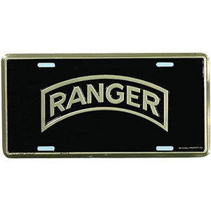 Honor Country Army Ranger License Plate