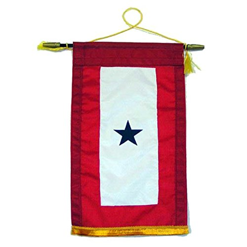 Family Member Military Service Banner - 1 BLUE STAR