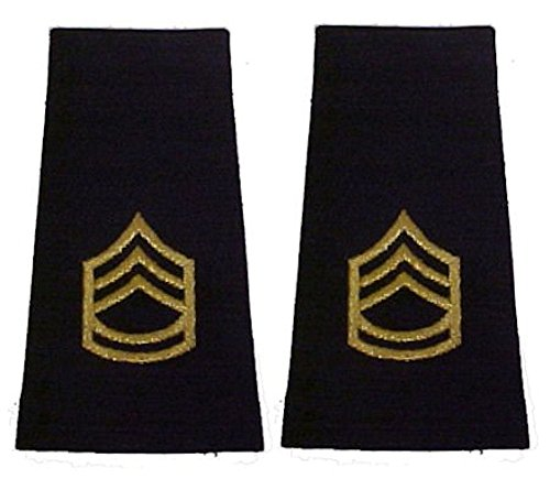 Army Uniform Epaulets - Shoulder Boards E-7 SERGEANT 1ST CLASS