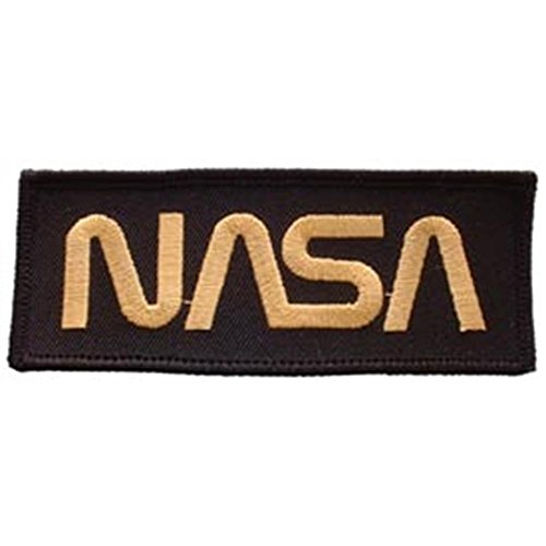 Eagle Emblems PM0302 Patch-Space,NASA,Gold (4 inch)