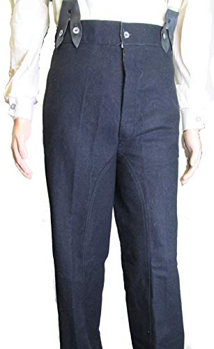 Military Uniform Supply Civil War U.S. Navy Blue Mounted Trousers