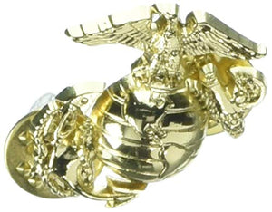 EagleEmblems P15135 Pin-USMC,Emblem,B1,Left Collar-Gold (1'')