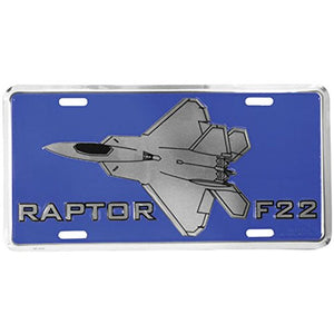 Honor Country Raptor F22 License Plate