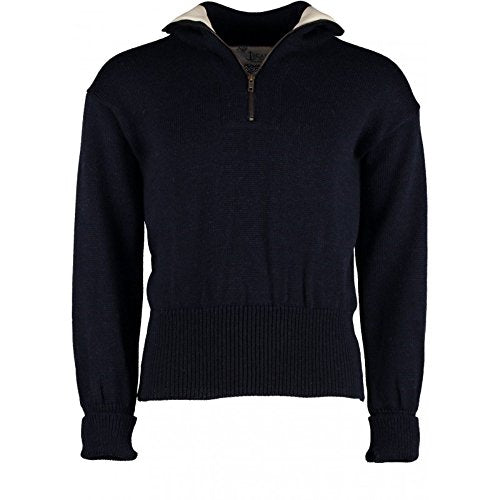 TW Kempton Greenwich Quarter Zip Sweater