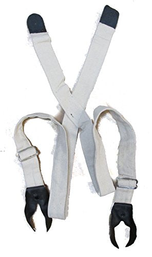 Civil War Adjustable Canvas Suspenders