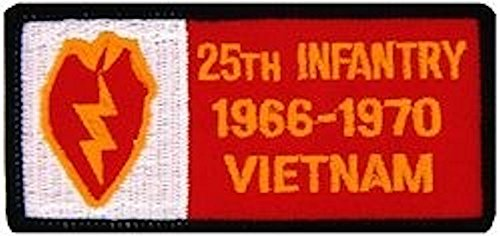 25th Infantry Vietnam Small Patch
