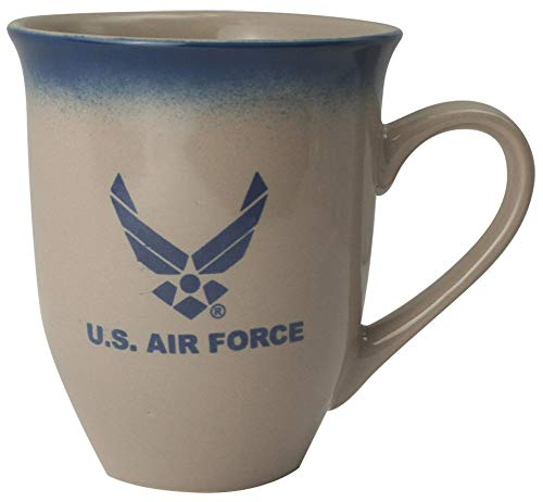 U.S. Air Force Wing Logo 16oz Cream Latte Coffee Mug