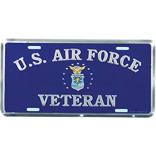 Honor Country US Air Force Veteran License Plate