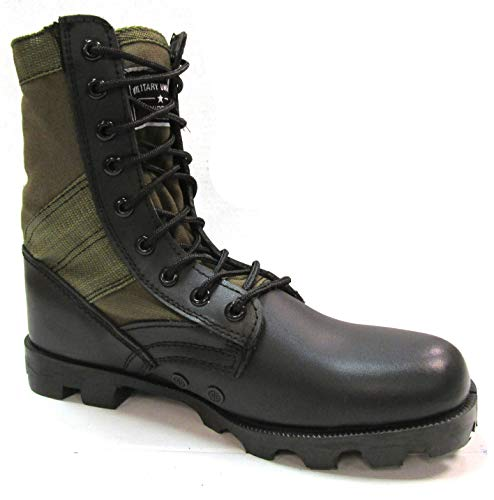 Military Uniform Supply O.D. Green Jungle Boots - Men's Combat Boots