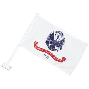 U.S. Army Crest Car Flag
