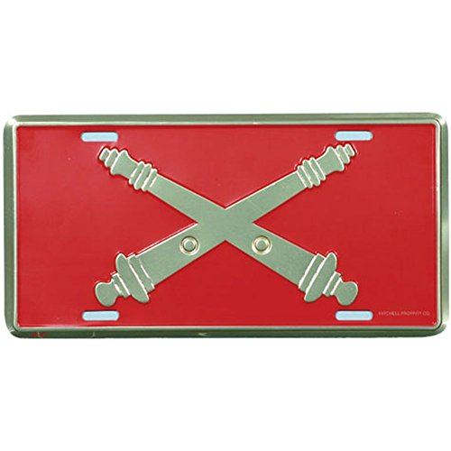 Honor Country Field Artillery License Plate