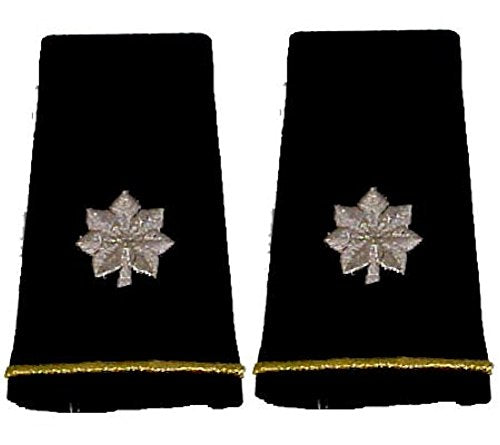 Army Uniform Epaulets - Shoulder Boards O-5 LT COLONEL