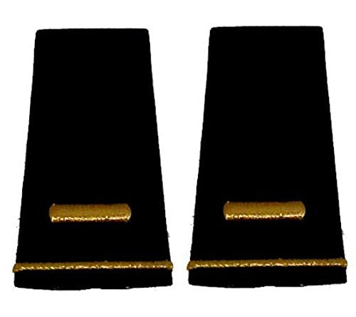 Army Uniform Epaulets - Shoulder Boards O-1 2ND LIEUTENANT