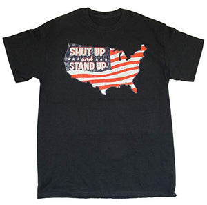Eagle Crest Shut Up and Stand Up T-Shirt