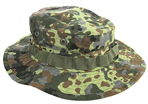 Military Uniform Supply Boonie Hat - Flecktarn CAMO