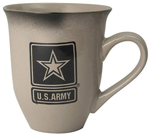U.S. Army Star 16oz Cream Latte Coffee Mug