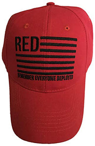 Eagle Crest R.E.D. Remember Everyone Deployed Hat Red