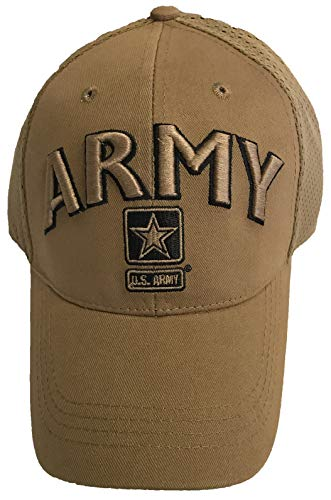 Eagle Crest U.S. Army Coyote Mesh Hat