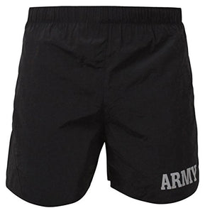 Black P/T Army Shorts