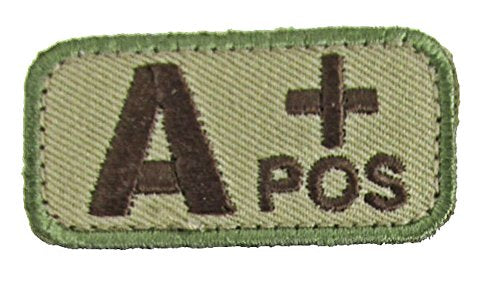 A POSITIVE Blood Type Patch - MULTICAM OCP