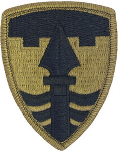 43rd MP Brigade (Military Police) Multicam  OCP Patch