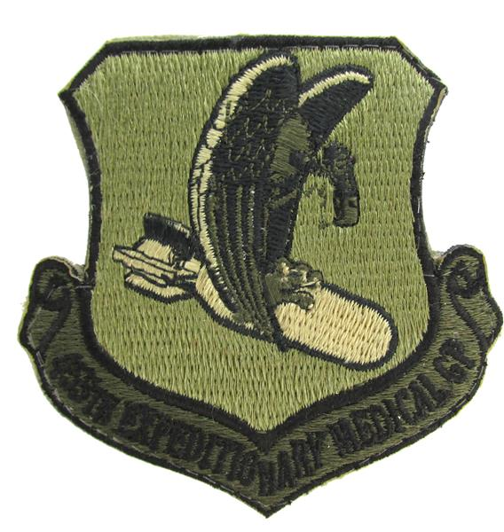 455th Expeditionary Medical Group OCP Patch - Scorpion W2