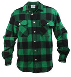 Rothco Extra Heavyweight Buffalo Plaid Flannel Shirts