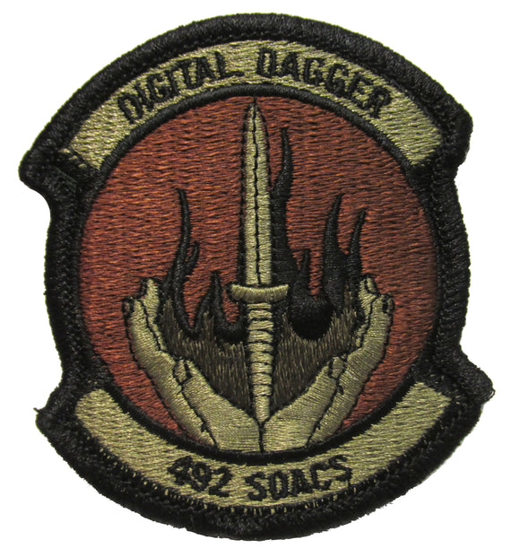 492nd Special Operations Advanced Capabilities Squadrons OCP Patch - Spice Brown