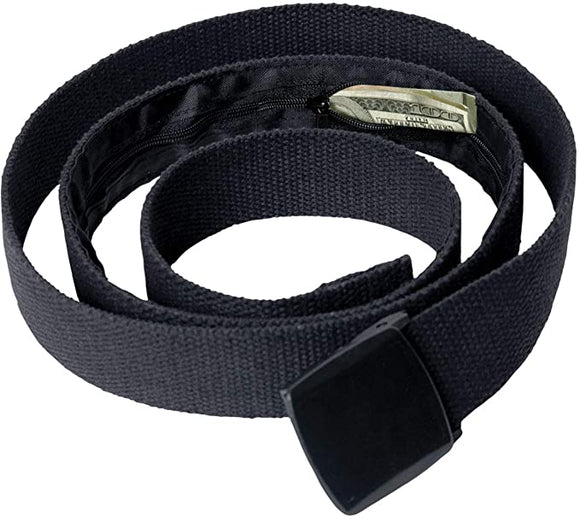 Rothco Travel Web Belt Wallet with Hidden Interior Compartment