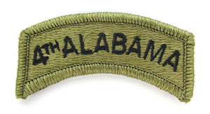 4th Alabama OCP Patch Tab - Scorpion W2