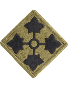 4th Infantry Division Multicam  OCP Patch