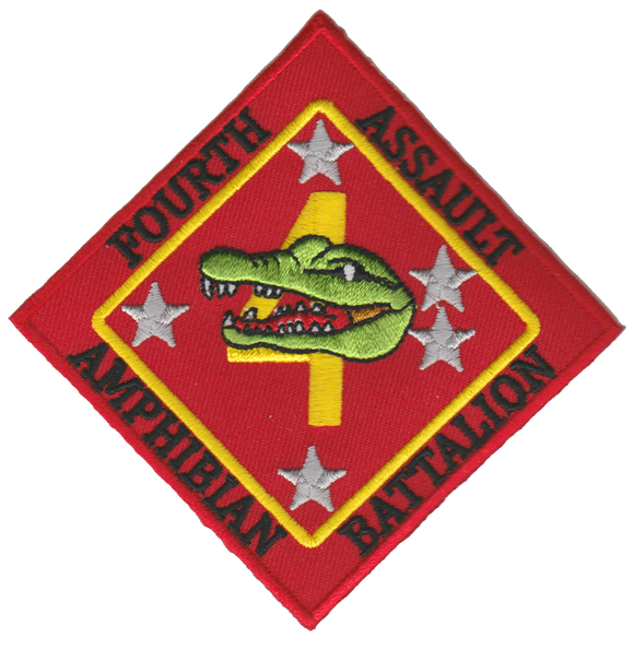 4th Amphibian Assault Battalion USMC Patch