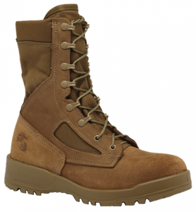 Belleville 500 Men's USMC Waterproof Combat Boots (EGA) - Coyote