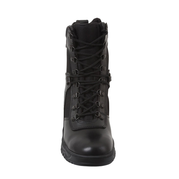 Rothco Forced Entry Tactical Boot With Side Zipper