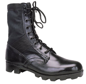 Black GI Style Jungle Boots - Imported
