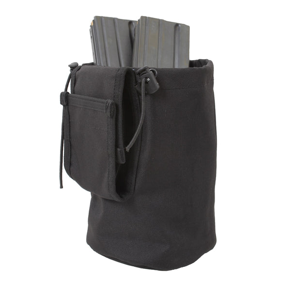 Rothco MOLLE Roll-Up Utility Dump Pouch Black