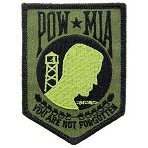 Eagle Emblems PM0116 Patch-Powmia (Subdued) (3.5 inch)