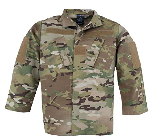Trooper Clothing Kids Multicam Uniform Jacket