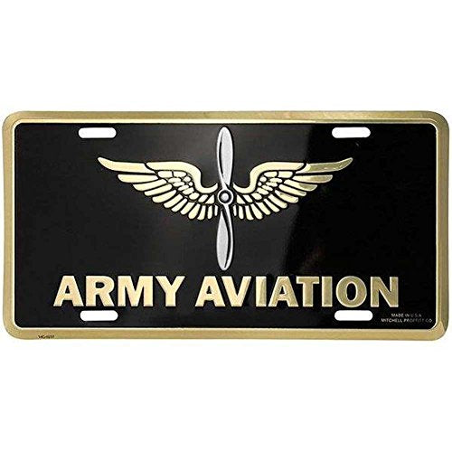 Honor Country US Army Aviation License Plate