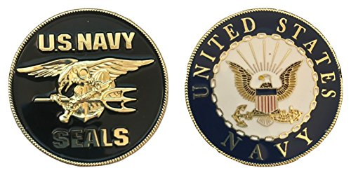 US Navy Seals - Challenge Coin - 1-5/8