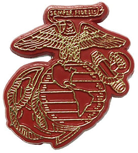 Marine Corps Eagle Globe & Anchor Emblem Small Cut-Out Magnet