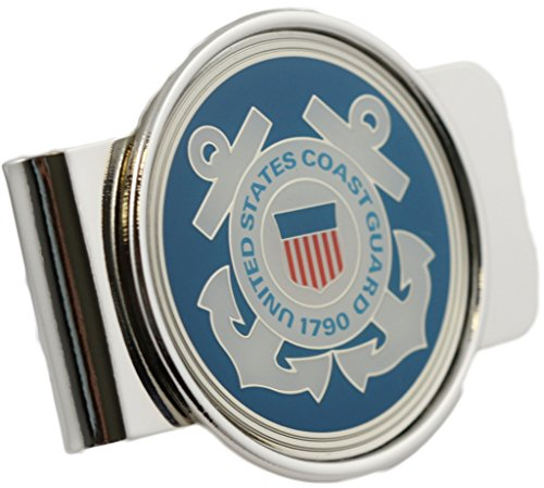 U.S. Coast Guard Logo Money Clip Military Money Clip