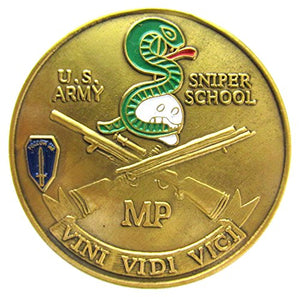 USA Sniper Challenge Coin