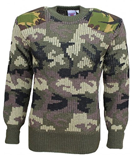 TW Kempton Stirling Woodland Camouflage Woolly Pully