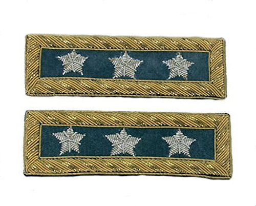 Civil War U.S. Officer's Shoulder Board - INFANTRY - LIEUTENANT GENERAL