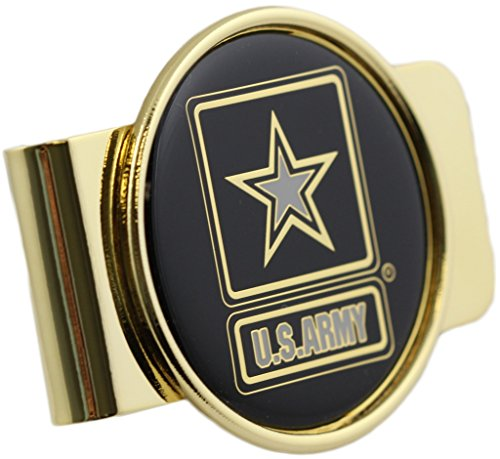 U.S. Army Strong Logo Money Clip