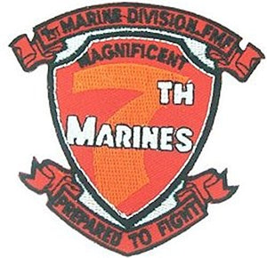 7th Marine Regiment Small Patch