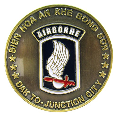 173rd Airborne Division Challenge Coin