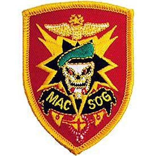 Eagle Emblems PM0015 Patch-Vietnam,Mac-V-SOG 3 inch